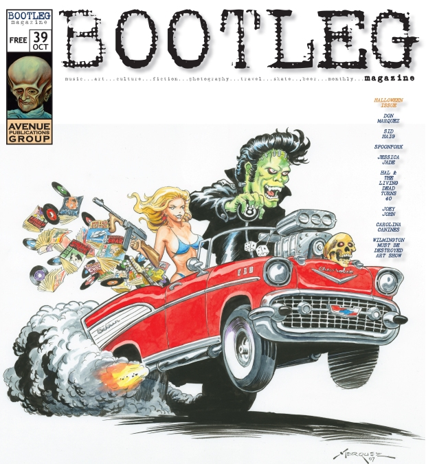 Oct 2008 cover art by Don Marquez