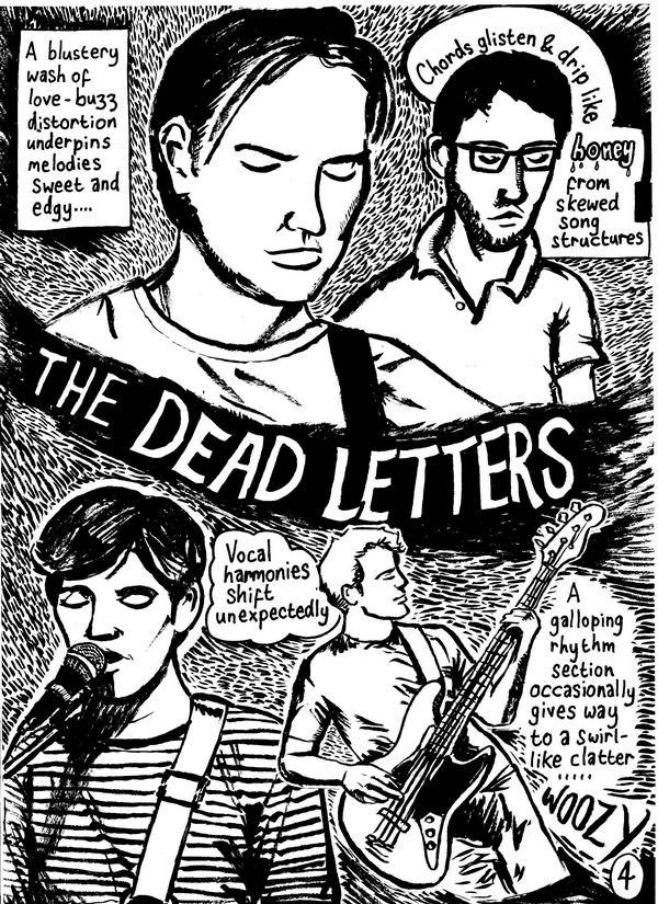 The Dead Letters comic