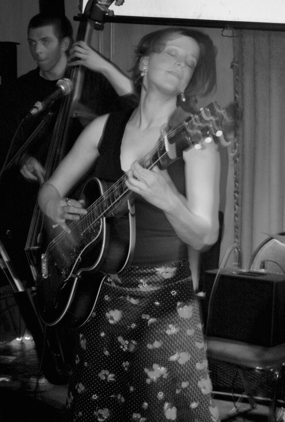 Miss Tess & The Bon Ton Parade January 2008 at The Juggling Gypsy - photo Brian Tucker