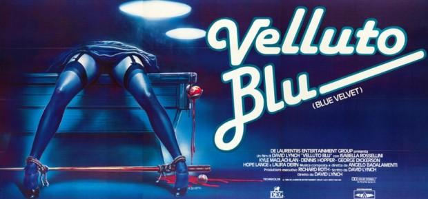 blue velvet - italian poster