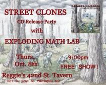 10.08 street clones CD show