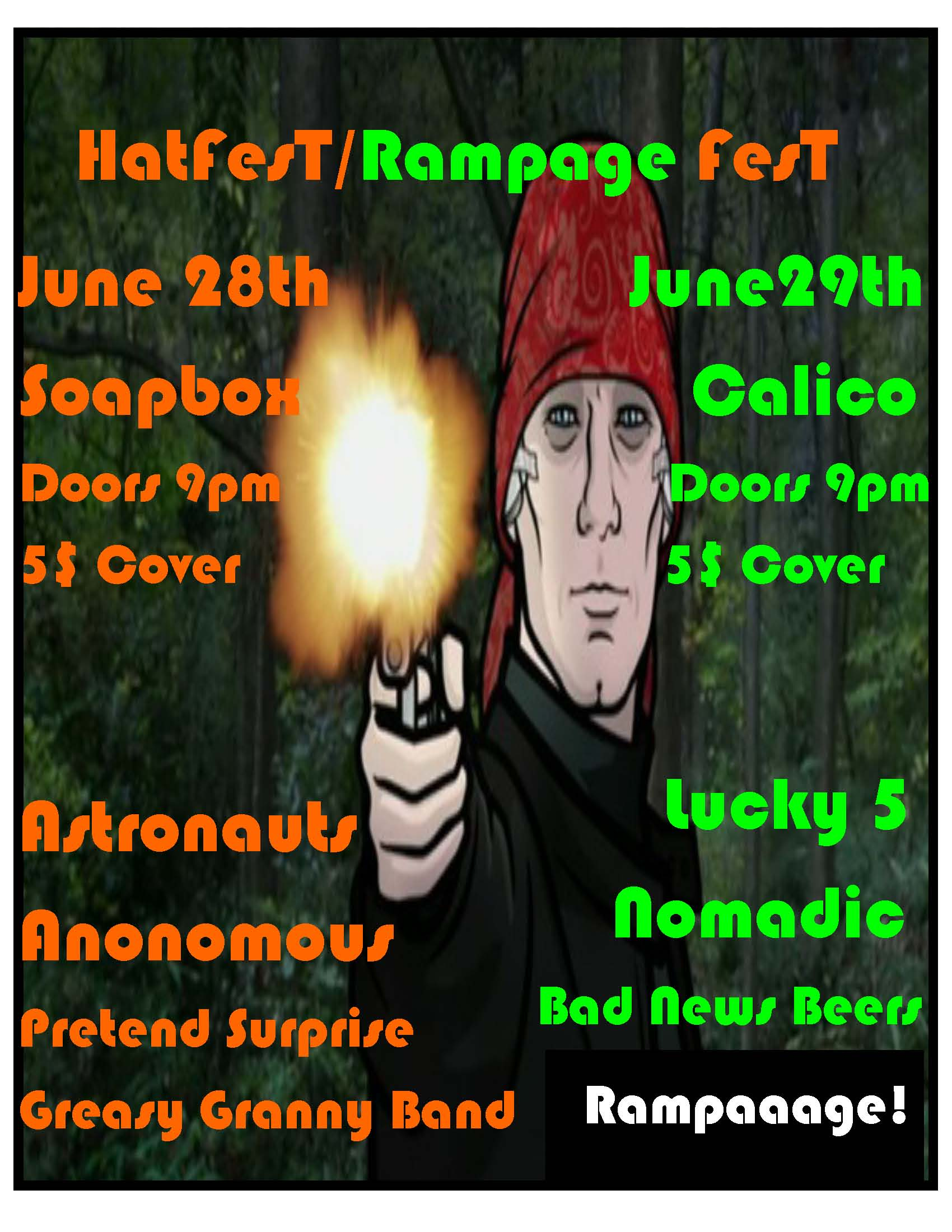 Hatfest Rampage fest posterpic