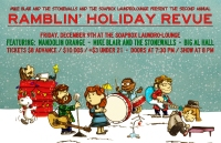 Mike Blair Christmas Revie show flyer