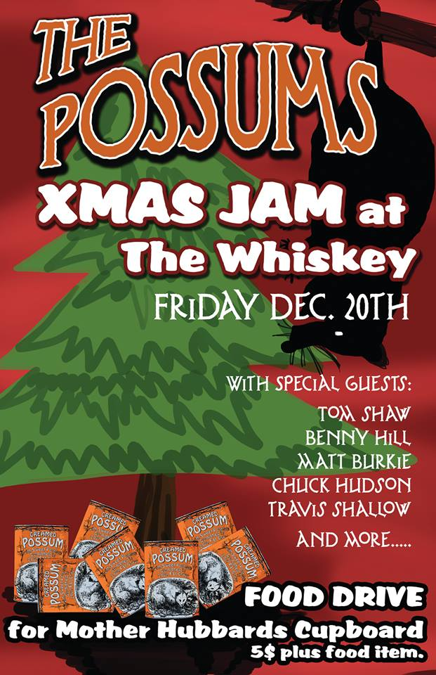 possums whiskey show