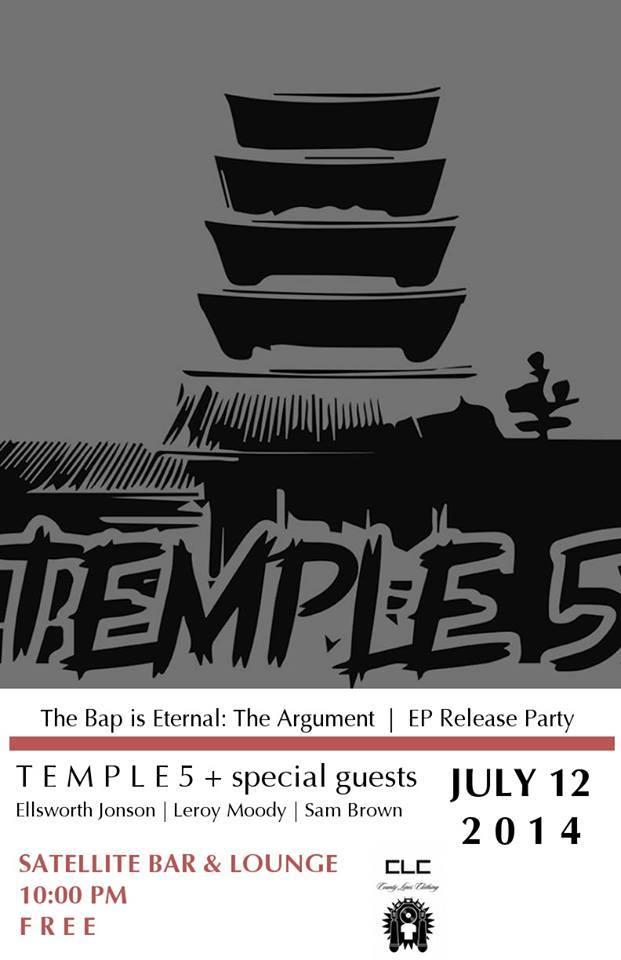 temple 5 flyer