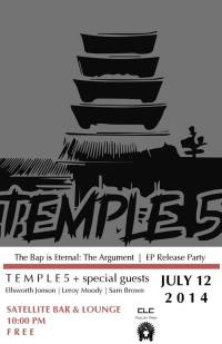 temple 5 flyer
